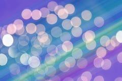 Bokeh zachte die nadruk met pastelkleurtonen wordt gemaakt Stock Foto