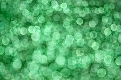 Bokeh zielony Tło Zdjęcie Royalty Free