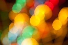 Bokehachtergrond met levendige kleuren Royalty-vrije Stock Fotografie