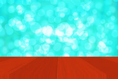 BokehBackground blu Immagine Stock