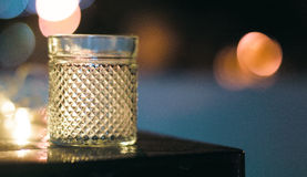 Bokehglas Stock Foto's