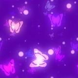 BokehGlowPaper-Butterflies Royalty Free Stock Image