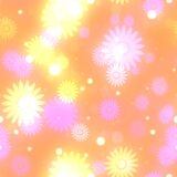 BokehGlowPaper-Daisies Royalty Free Stock Image