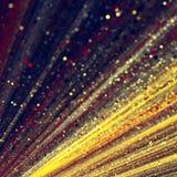 Bokehs και υπόβαθρο χρωματισμένων γραμμών στοκ εικόνα