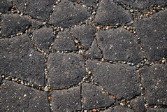 Broken Asphalt Royalty Free Stock Photography