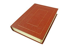 Boken i en brun räkning Royaltyfria Bilder