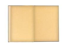 boken isolerade gammala öppnar Royaltyfri Bild