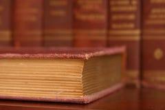 boken pages slitet Royaltyfri Bild