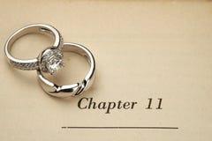 boken ringer bröllop royaltyfria foton