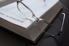 bokexponeringsglas öppnar Royaltyfria Bilder