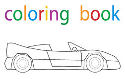 bokfärgläggning stock illustrationer