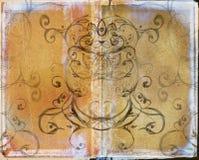 bokgrungespread royaltyfri illustrationer