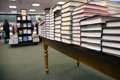 bokhandel Arkivfoto