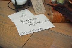 Bokhandelskärm i Norwich, England Arkivbild