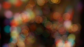 Bokhe рождества Стоковая Фотография RF