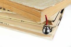 bokmärkebokhand - använd gjord bunt Arkivfoton