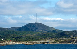 Boknafjell-Berg, Rogaland, Norwegen Stockbild
