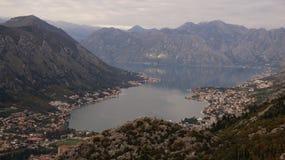 Boko-Bucht Montenegro Stockfotografie