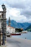 Boko Kotor bay view, Perast Stock Images