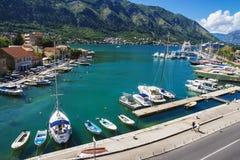 Boko-Kotorsky bay, kotor, Montenegro Royalty Free Stock Image