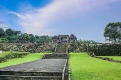 Boko tempel Arkivbilder