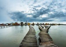 Bokod jezioro zdjęcia stock