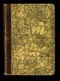 Bokomslag för tidskrift för dagbok för tappning för skan textur för foto antikt Arkivbilder