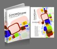 bokomslagdesign vektor illustrationer