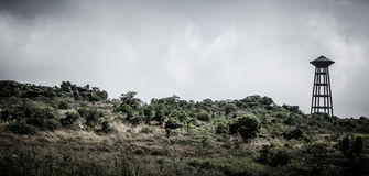 Bokor water tower Stock Images