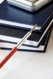 bokpenna Fotografering för Bildbyråer