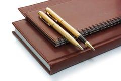 bokpennor Fotografering för Bildbyråer