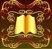 bokprydnad Royaltyfria Bilder