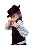 bokser chłopiec Obraz Royalty Free