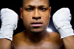 Bokser lub MMA wojownik Zdjęcie Stock
