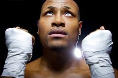 Bokser of MMA-Vechter stock foto
