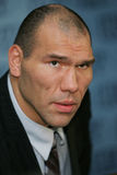 Bokser Nikolai Valuev Royalty-vrije Stock Foto