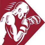 boksera boju target1663_0_ Zdjęcie Stock