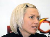 boksera Natascha ragosina Zdjęcia Stock
