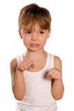 bokserska chłopiec Obrazy Stock