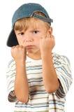 bokserska chłopiec Zdjęcia Royalty Free
