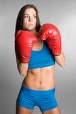 bokserska dziewczyna Obraz Royalty Free