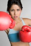 bokserska kobieta Fotografia Royalty Free