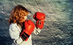 bokserska praktyka Fotografia Stock