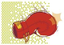 bokserska rękawiczka Zdjęcie Stock
