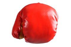 Bokserska rękawiczka odizolowywająca zdjęcia stock