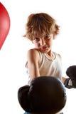 bokserski dzieciak Fotografia Royalty Free