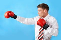 bokserski kopnięcie Zdjęcia Royalty Free