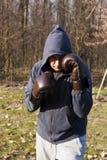 bokserski szkolenie Fotografia Stock