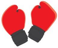 bokserskie rękawiczki Fotografia Stock