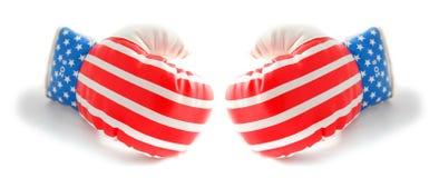 Bokshandschoenen Stock Foto's